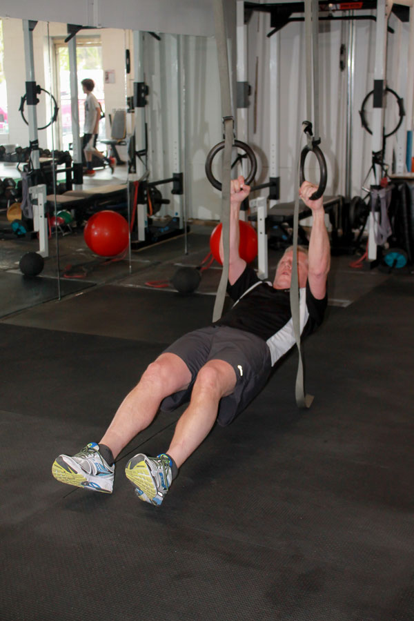 Men's Fitness Training - Rings
